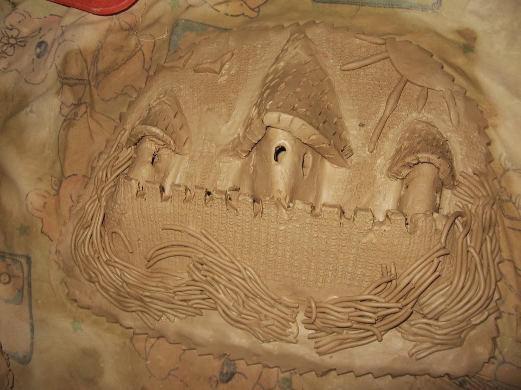 Замок на плоскости Екатерины Петровны