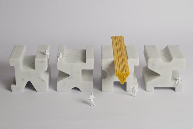 *Studio Lievito:白色大理石量麵器! 1
