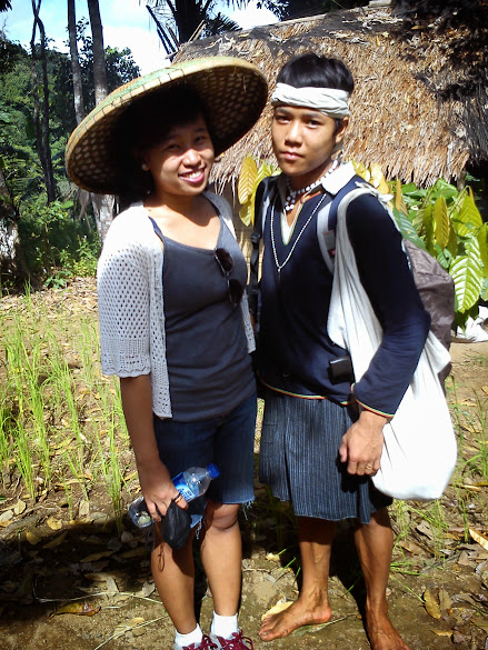 Me and Baduy Tribe Boy