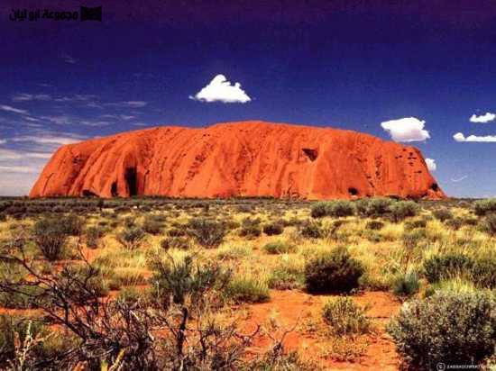 عجائب الدنيا السبع الطبيعية Uluru_10241