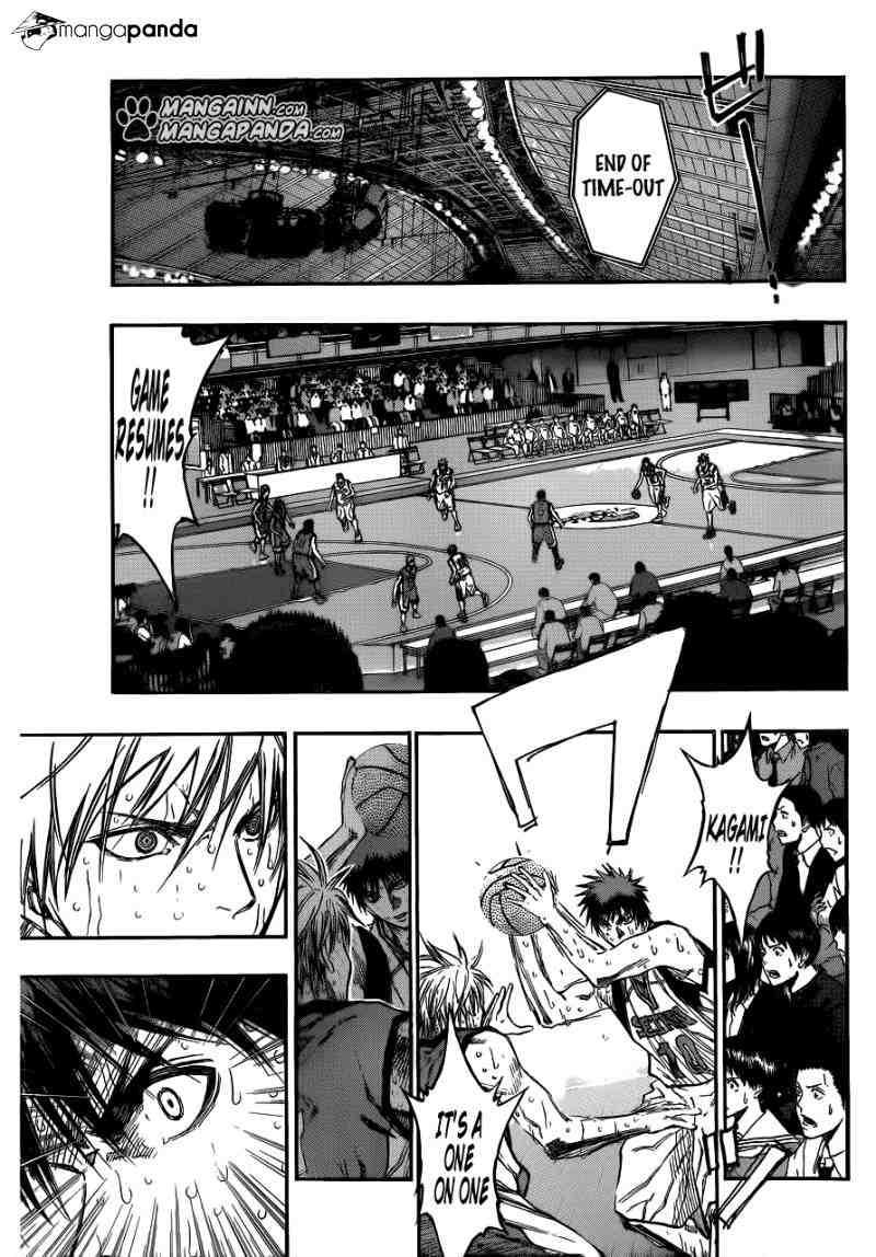Kuroko no Basket Manga Chapter 197 - Image 05