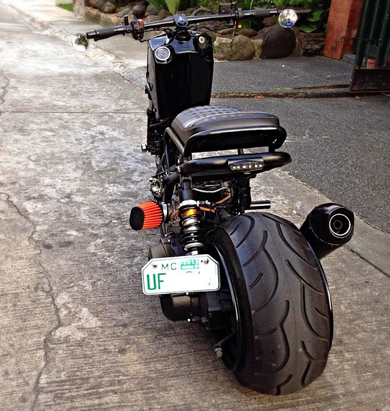 Scooters - Making a Ruckus out of a Sym Jet Custom Pinoy Rides Manila Philippines pic1