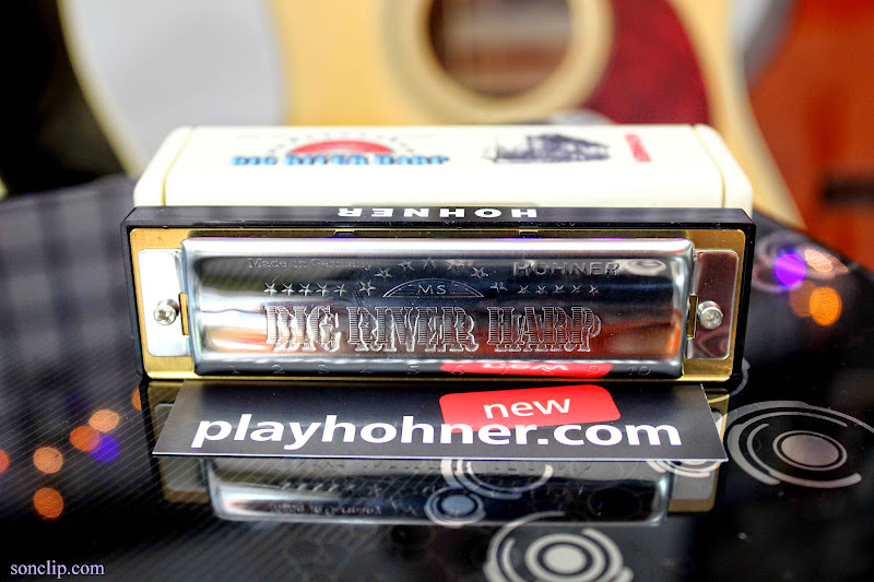 Kèn Harmonica - Hohner Big River Harp MS (key G)