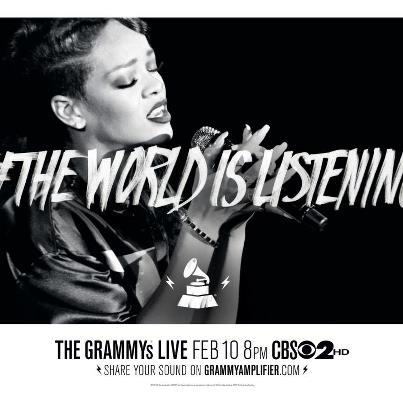 """The World Is Listening"" The Grammys Ad Campaign"