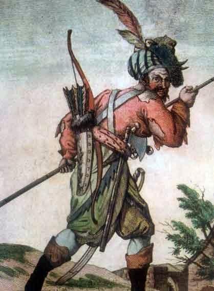 Донской казак в 17 веке