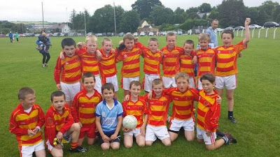 Two teams took part in the under 10 blitz in Bandon this morning.