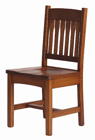 Gustavus Dining Chair in Autumn Quarter Sawn Oak