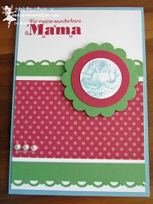 stampin up muttertag papaya collage duftes dutzend