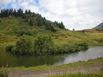 Lac au sommet