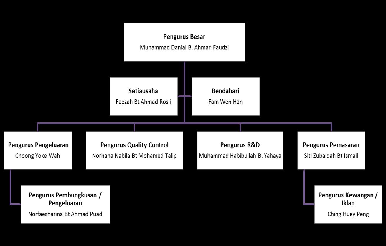 Eg Enterprise Sdn Bhd Carta Organisasi Syarikat