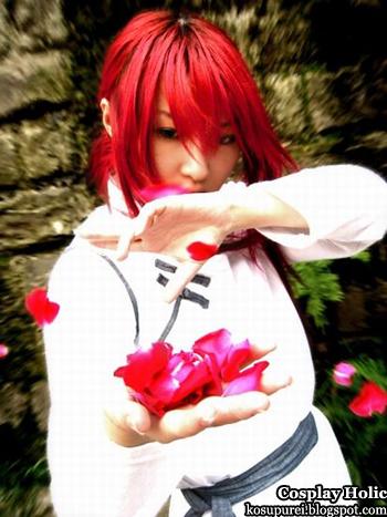 yu yu hakusho cosplay - kurama 04