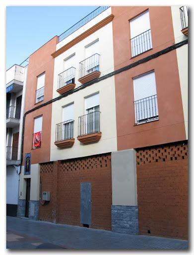 Fachada de domicilio particular. Calle Nuestra Señora de Valme, 11.