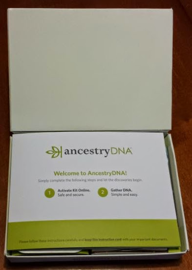 AncestryDNA Welcome Booklet