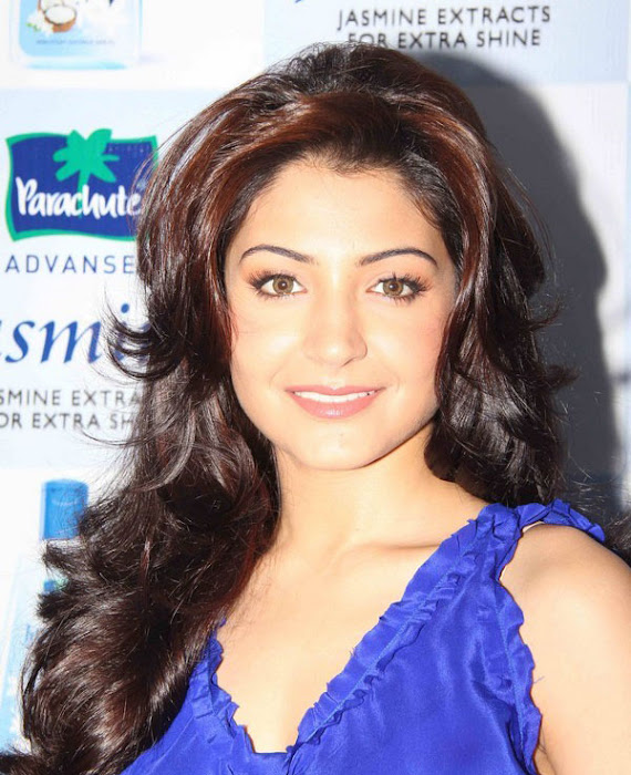anushka sharma launches parachute jasmine hair oil hot images