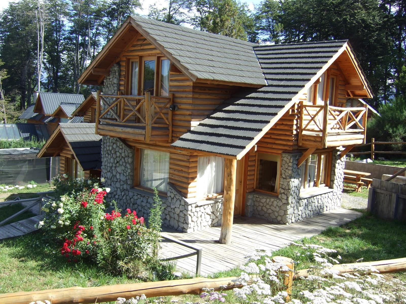 Descubriendo las am ricas argentina villa la angostura - Casas de madera nordicas ...