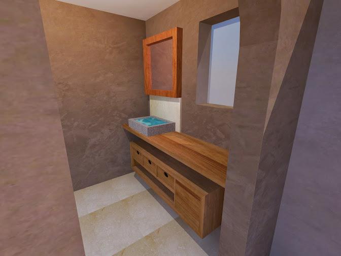 Meuble de salle de bain  SDB15