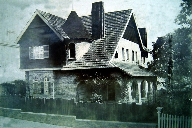 Hanney, built in the 1880s in Alfred Street, Cammeray
