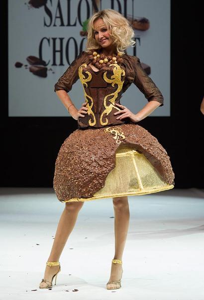 Paris fashion show — всё в шоколаде!