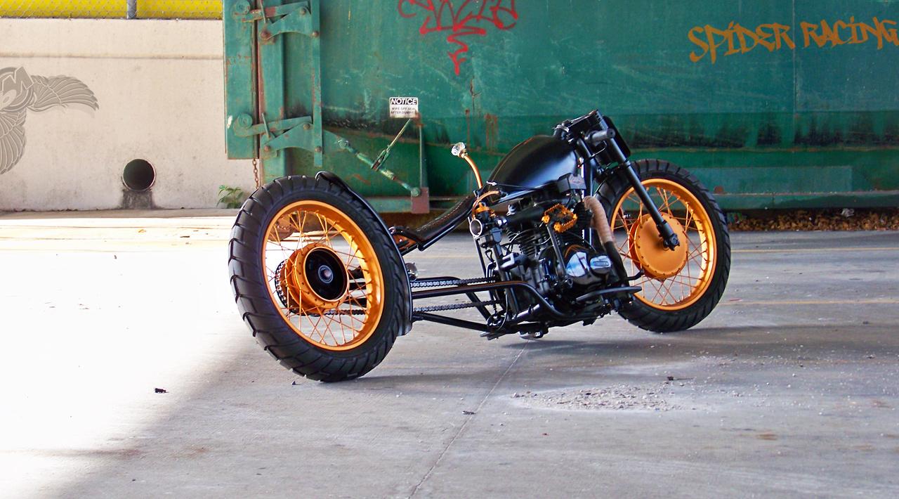 Spider Racings Clean Freaking Cb360 Chopper