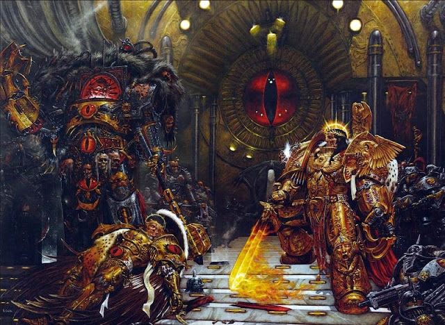 Horus and the Emperor by Adrian Smith