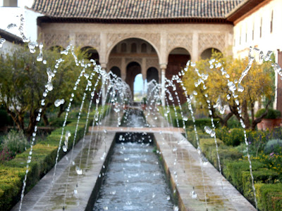 Fountain at the Generalife
