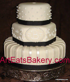 Royal Blue Wedding Cakes
