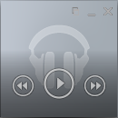 Mini přehrávač - Google Music Desktop Player