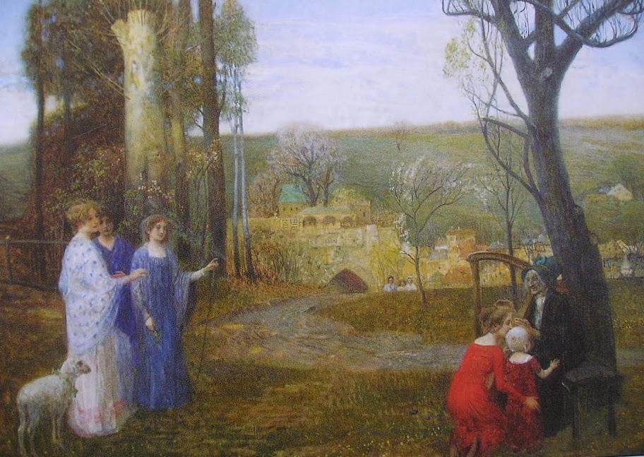 Eduard Veith - Allegorical Scene