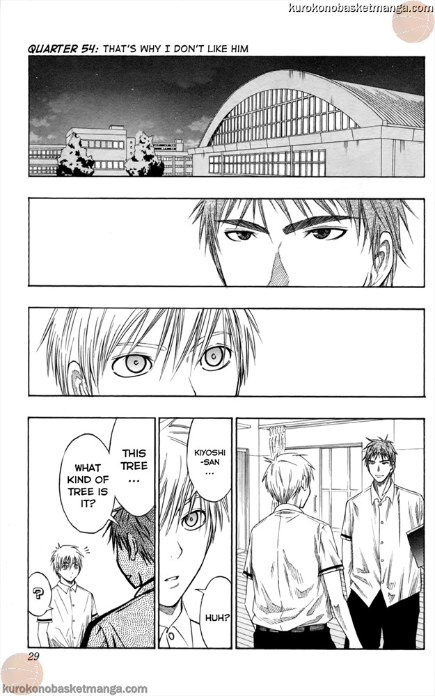 Kuroko no Basket Manga Chapter 54 - Image 01