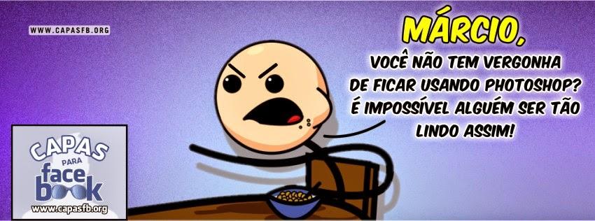Capas para Facebook Márcio