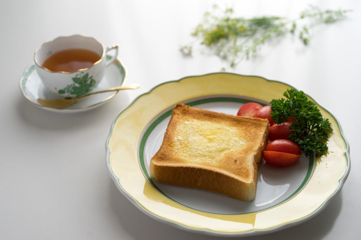 バタートースト(美瑛ファームバター)