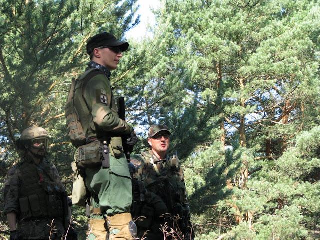 Jaston (SN), Piter (Navy Team) & Dantee (Rangers)