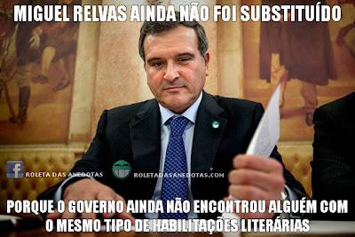 Miguel Relvas: Governo incapaz de o substituir