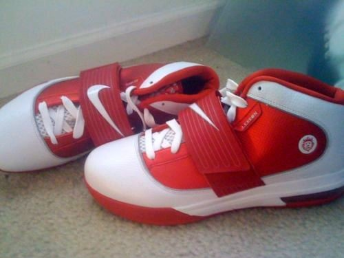 TBT First Look at Nike Zoom Soldier IV 8220Ohio State8221 Home PE