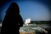 Oleaje rompiendo en la costa