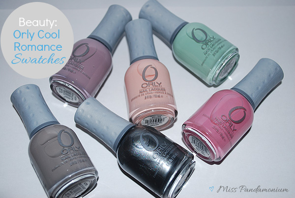 Beauty // Orly Cool Romance Swatches