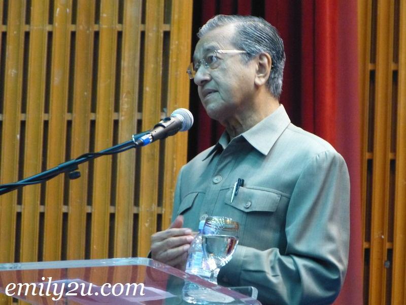 executive talk Tun Dr Mahathir