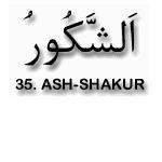 35.Ash Shakur