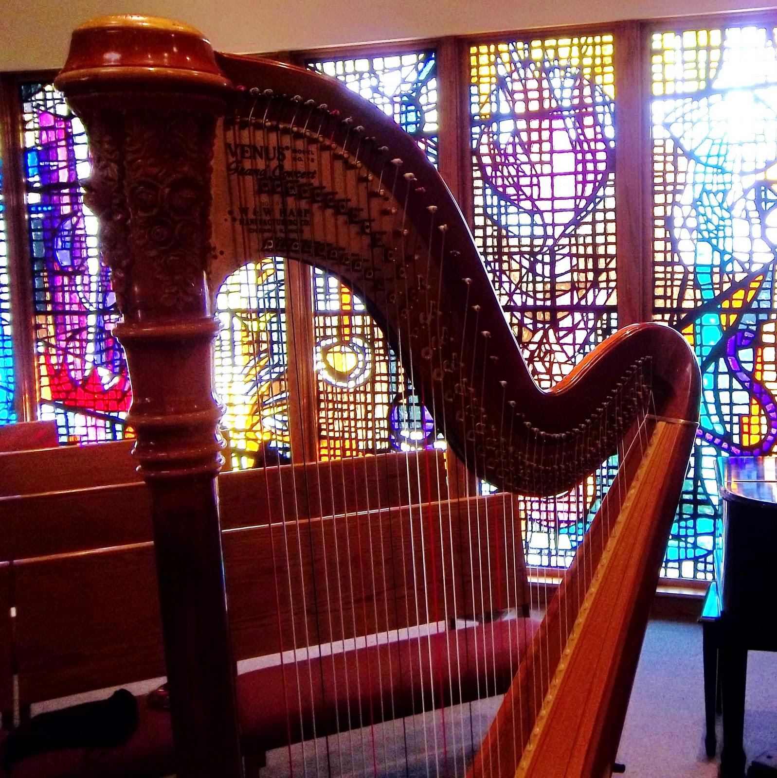 Chicago Wedding Harpist Lord Of Life Lutheran Wedding