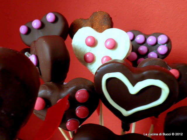 cake pops dell'amore