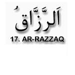 17.Ar Razzaq