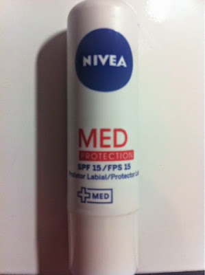 nivea, protetor labial, med protection