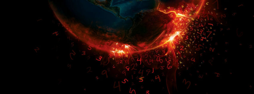 Earth burn digits facebook cover