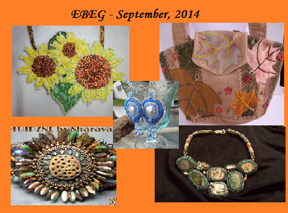 Etsy Bead Embroidery Guild Fall Designs