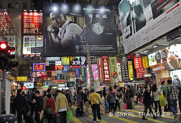 hong kong city crowds, hong kong city at night, population in china, hong kong city images