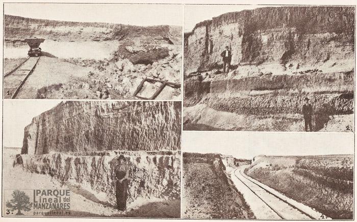 Explotaciones de áridos en las Terrazas del Manzanares