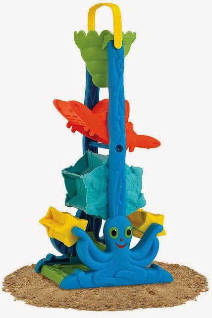 Phễu chơi cát được làm từ chất liệu nhựa cao cấp
