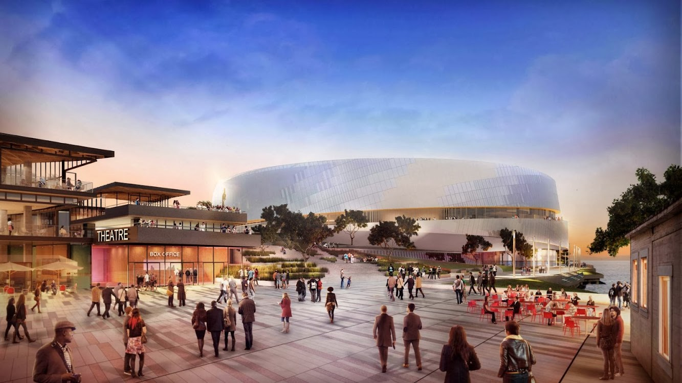 San Francisco, California, Stati Uniti: San Francisco Arena by Manica Architecture