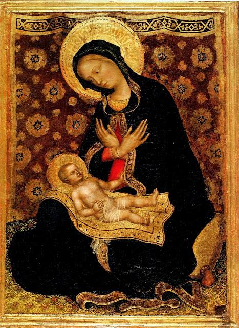 Gentile da Fabriano - Madonna of Humility
