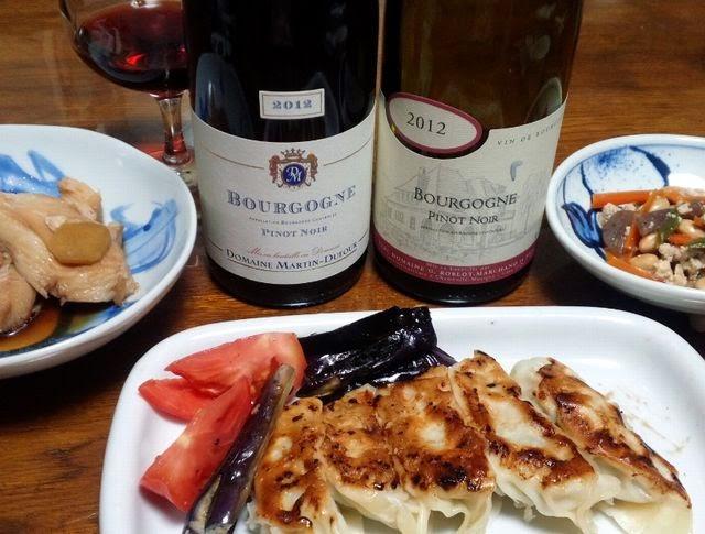 餃子とワインの合性